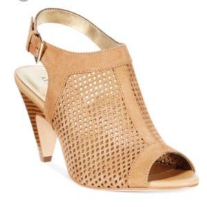 Alfani Payson tan perforated Slingback Heel